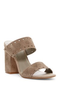 Melrose And Market STONE SUEDE Sandals