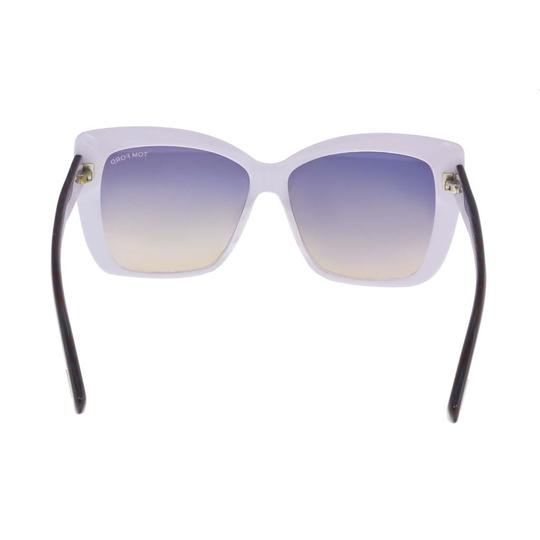 Tom Ford Tom Ford Periwinkle/White Oval Sunglasses