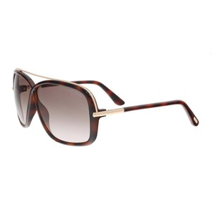 Tom Ford Tom Ford Medium Havana Rectangle Sunglasses