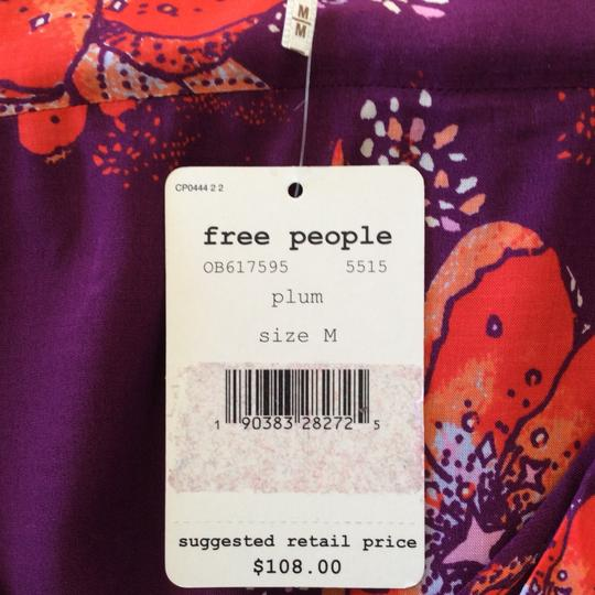 Free People Satchel in Plum