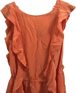 Alice + Olivia Top Orange