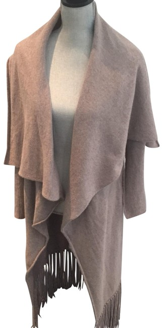 Preload https://img-static.tradesy.com/item/22676298/theperfext-light-brown-cashmere-sweater-ponchocape-size-2-xs-0-1-650-650.jpg