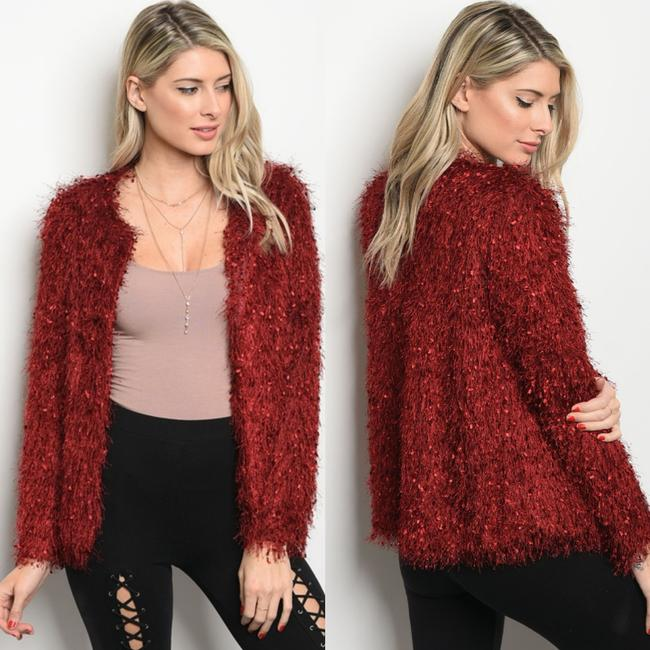 LoveRiche Fringe Cardigan Boho Party Date Sweater