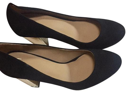 Preload https://img-static.tradesy.com/item/22676434/ann-taylor-tinsley-black-suede-jewel-gold-block-heels-formal-shoes-size-us-85-regular-m-b-0-1-540-540.jpg