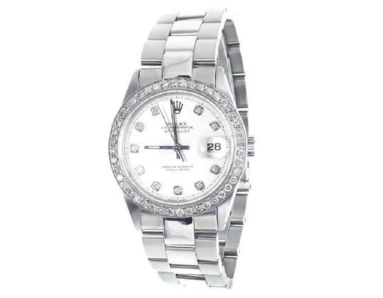 Rolex Datejust Oyster Stainless Steel Diamond Watch with 2.5 Ct