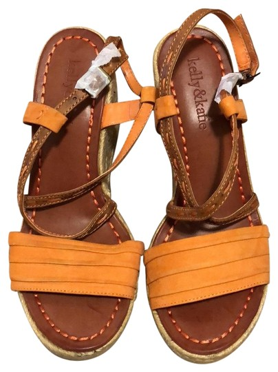 Preload https://img-static.tradesy.com/item/22676459/kelly-and-katie-tan-with-orange-espadrilles-wedges-size-us-55-regular-m-b-0-1-540-540.jpg