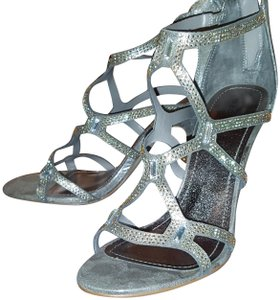 Steve Madden Girl Silver Sandals