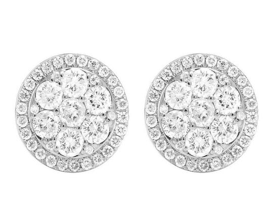 Preload https://img-static.tradesy.com/item/22676557/jewelry-unlimited-14k-yellow-gold-white-real-diamond-round-cluster-studs-15ct-earrings-0-1-540-540.jpg