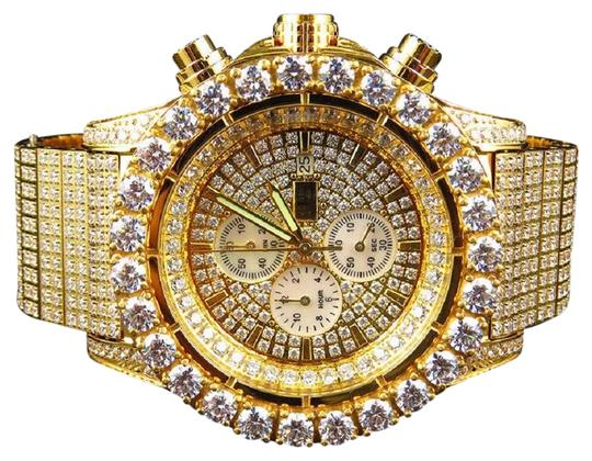 Preload https://img-static.tradesy.com/item/22676676/jewelry-unlimited-yellow-steel-mens-jojino-joe-rodeo-simulated-diamond-48mm-watch-0-1-540-540.jpg