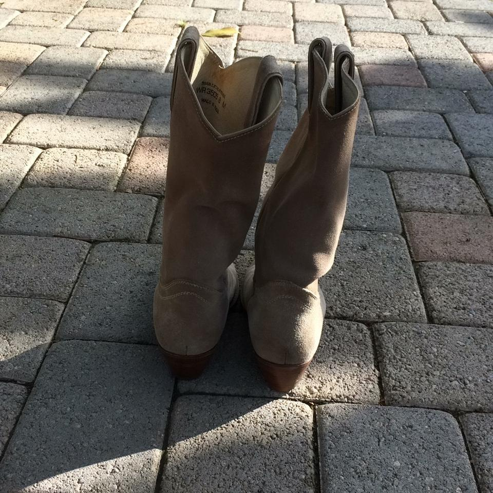 a601ada78 Saks Fifth Avenue Tan Suede Western Boots/Booties Size US 8 Regular ...