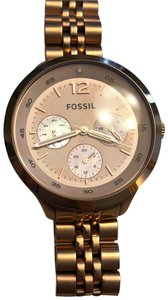 Fossil Women's Rose-tone Stainless Steel Watch