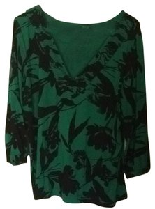 A.N.A. a new approach Top Green And Black