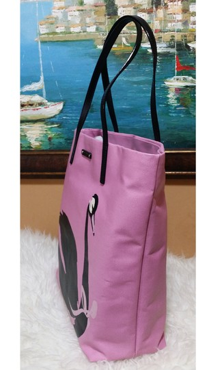 Kate Spade Polar Bear Bon Shopper Tote in pINK