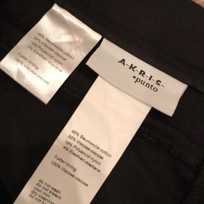 Akris Punto Skinny Pants Black