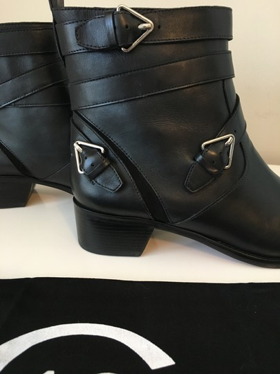 10 Crosby Derek Lam Coleen Leather Ankle Ankle Ankle Black Boots