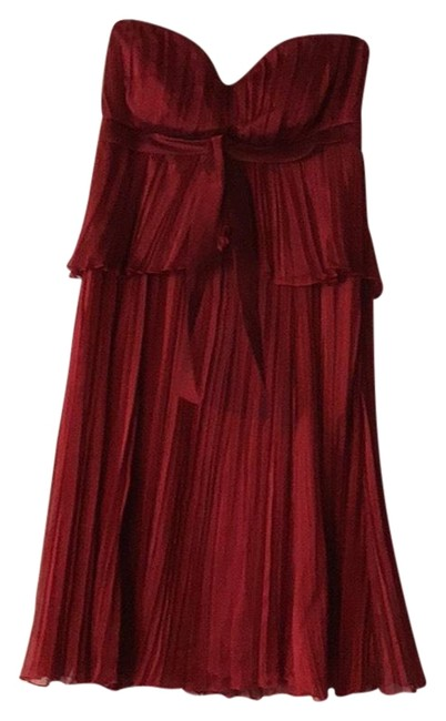 Preload https://img-static.tradesy.com/item/22677040/sangria-red-mid-length-night-out-dress-size-10-m-0-1-650-650.jpg