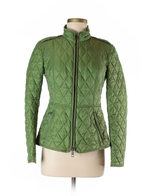 Preload https://img-static.tradesy.com/item/22677047/burberry-green-quilted-spring-jacket-size-6-s-0-3-650-650.jpg