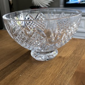 """Waterford Heirloom Bowl 8"""" Decoration"""