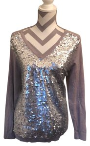 Joan Boyce Top gray/silver