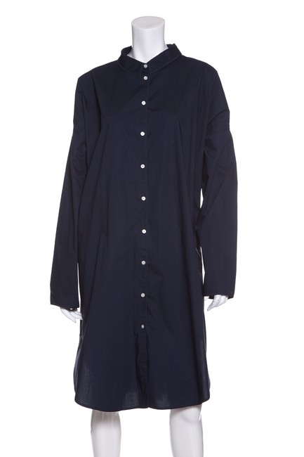 Preload https://img-static.tradesy.com/item/22677400/acne-studios-navy-cotton-button-down-tunic-short-casual-dress-size-8-m-0-0-650-650.jpg