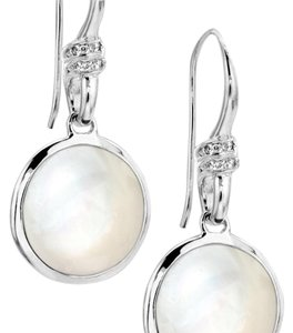 Ippolita Mother-of-Pearl & Diamond Earrings Style Number: SE478MOPCDIA1