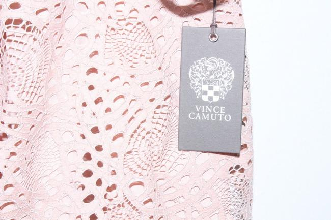 Vince Camuto Shirt Lace Top Pink Image 5