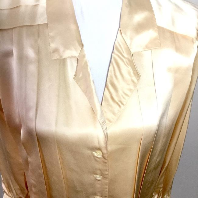 Made In Hong Kong British Crown Colony Top Pale Gold