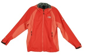 The North Face Summit Windstopper Hooded Orange Jacket