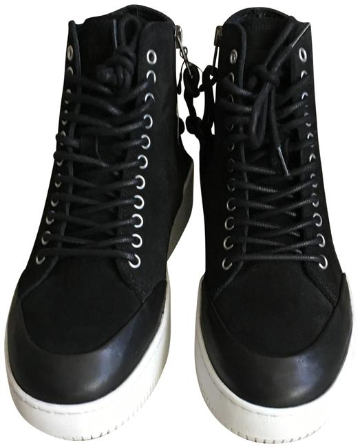 Item - Black Netil Lace Eyelet High-top Sneakers. 430019r2392 Wedges Size EU 37 (Approx. US 7) Regular (M, B)
