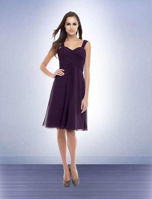 Item - Plum Chiffon 155 Bridesmaid/Mob Dress Size 10 (M)