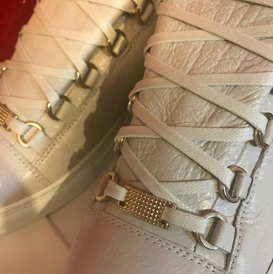Balenciaga Arena Yeezy Low Tops white Athletic