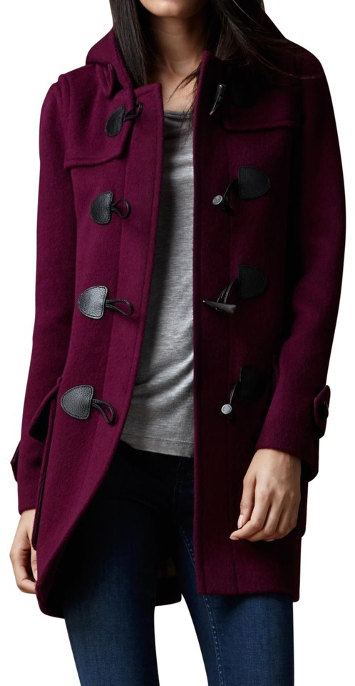 Purple Duffle Coat