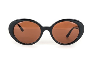 The Row Oliver Peoples x The Row Black 'Parquet' Sunglasses