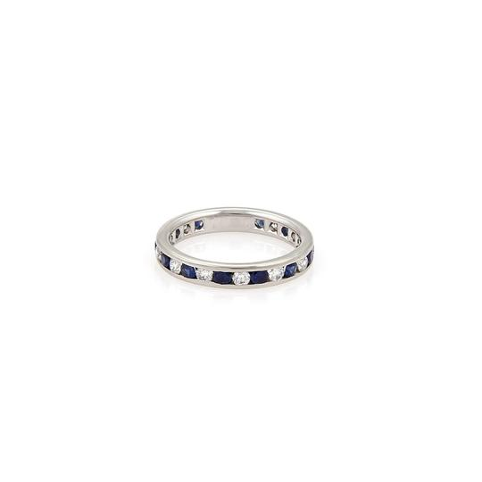 Preload https://img-static.tradesy.com/item/22678124/tiffany-and-co-diamonds-sapphire-platinum-full-circle-eternity-band-size-5-ring-0-0-540-540.jpg