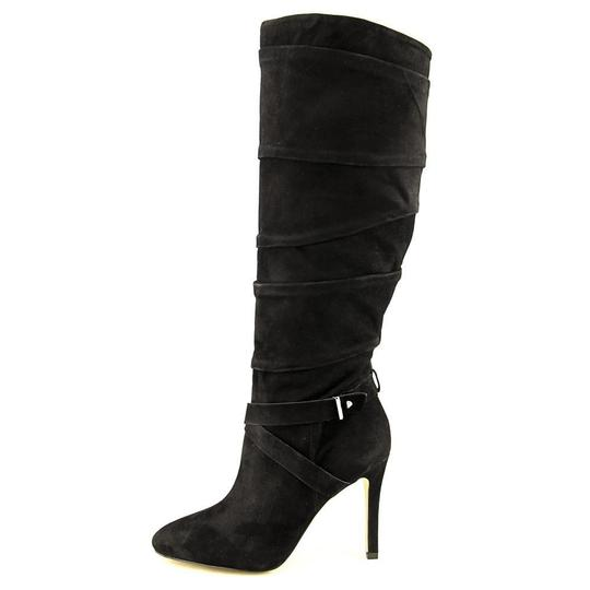 Guess Knee-high Suede Black Boots Image 2
