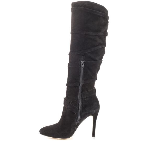 Guess Knee-high Suede Black Boots Image 3