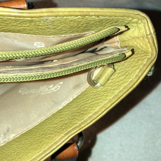Fossil Satchel in Green Image 10