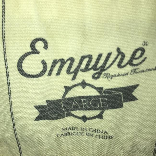 Empyre Black w/ Gray Hoodie Leather Jacket Image 7