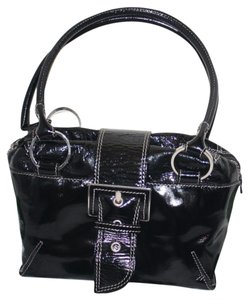 Donald J. Pliner Satchel in Black