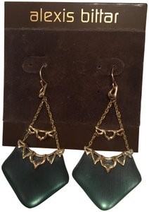 Alexis Bittar ALEXIS BITTAR Green Lucite Dangler Earrings