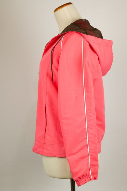 New York Laundry N.y.l. Hooded Trim N.y.l. Coral/Brown Jacket Image 2