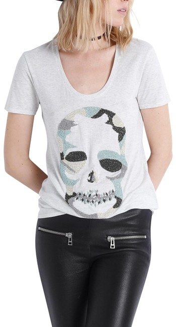 Preload https://img-static.tradesy.com/item/22678927/zadig-and-voltaire-skull-embroidered-tee-shirt-size-8-m-0-1-650-650.jpg