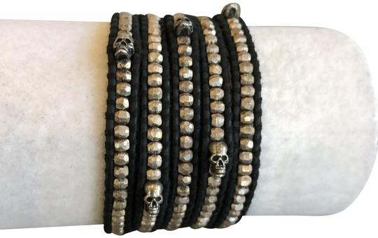 Preload https://img-static.tradesy.com/item/22678989/chan-luu-sterling-silver-new-skull-five-wrap-natural-bla-bracelet-0-1-540-540.jpg