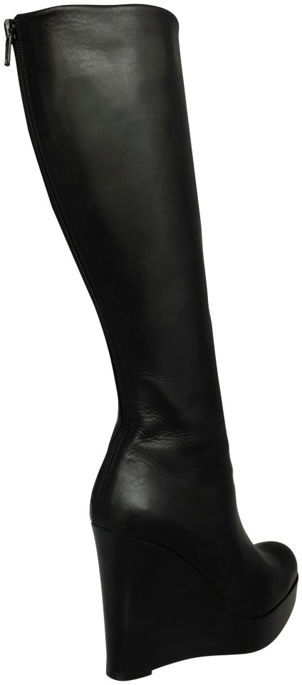 4639827cfdab Christian Louboutin High Heels Otk Over The Knee Thigh High Platform Black  Boots Image 0 ...