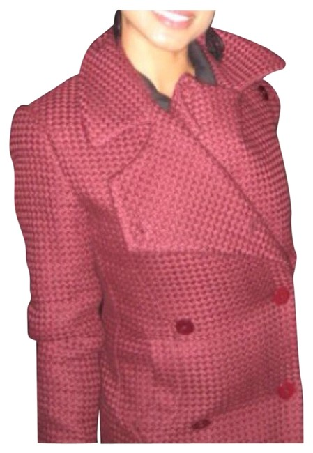 Preload https://img-static.tradesy.com/item/22679017/original-penguin-by-munsingwear-cranberry-woven-winter-overcoat-trench-coat-size-6-s-0-1-650-650.jpg