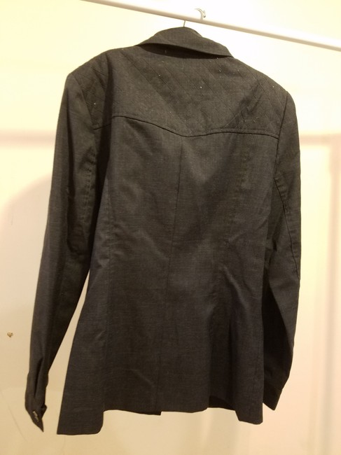 Rene Pontier Rene Pontier Brand 2 Pcs Skirt Suit Outfit Vintage Women Size 2 Gray Image 2