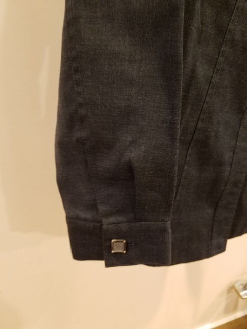 Rene Pontier Rene Pontier Brand 2 Pcs Skirt Suit Outfit Vintage Women Size 2 Gray Image 3