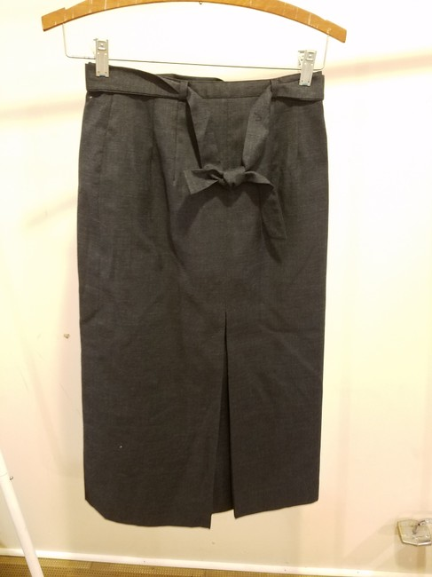 Rene Pontier Rene Pontier Brand 2 Pcs Skirt Suit Outfit Vintage Women Size 2 Gray Image 4