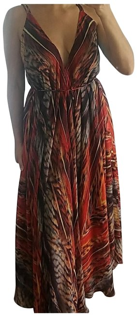Preload https://img-static.tradesy.com/item/22679165/lotta-stensson-featherprint-long-casual-maxi-dress-size-os-one-size-0-1-650-650.jpg