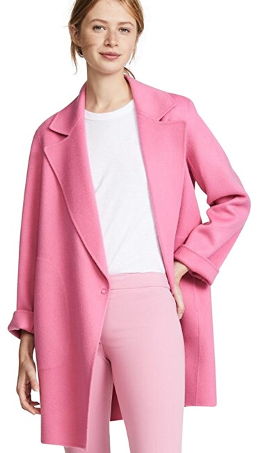 Item - Orchid Pink New Divide Wool-cashmere Boy Coat Size 6 (S)